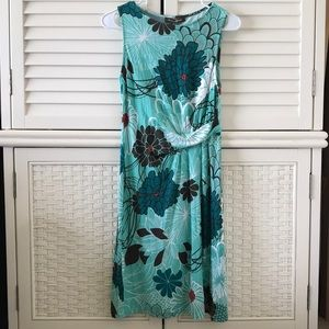 Tommy Bahama xs Dress Blue nwt scribble mums